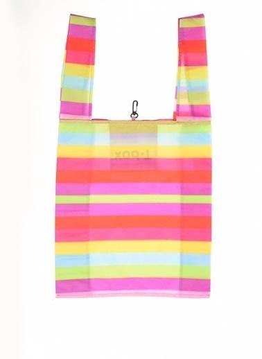 T-Box Plaj Çantası Renkli